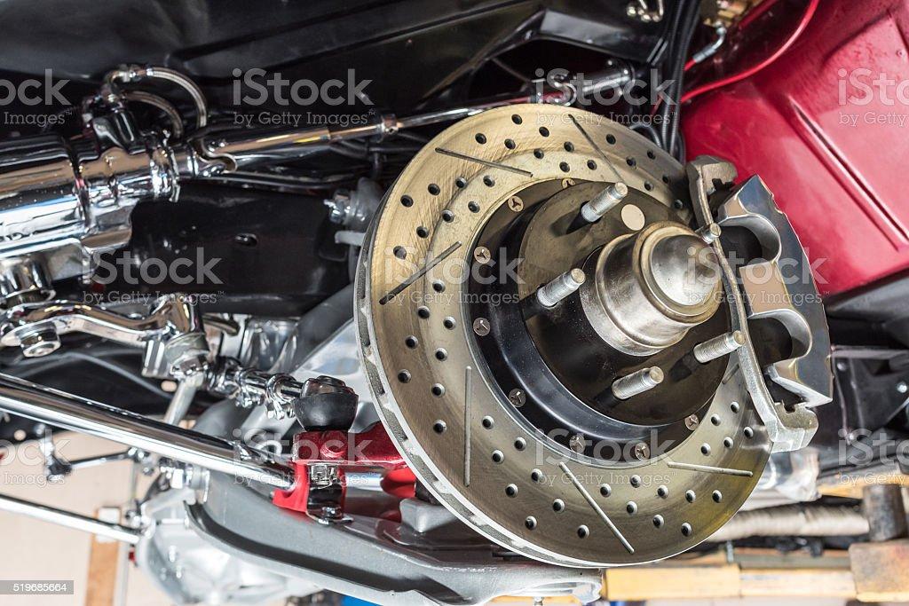 Brake System stock photo