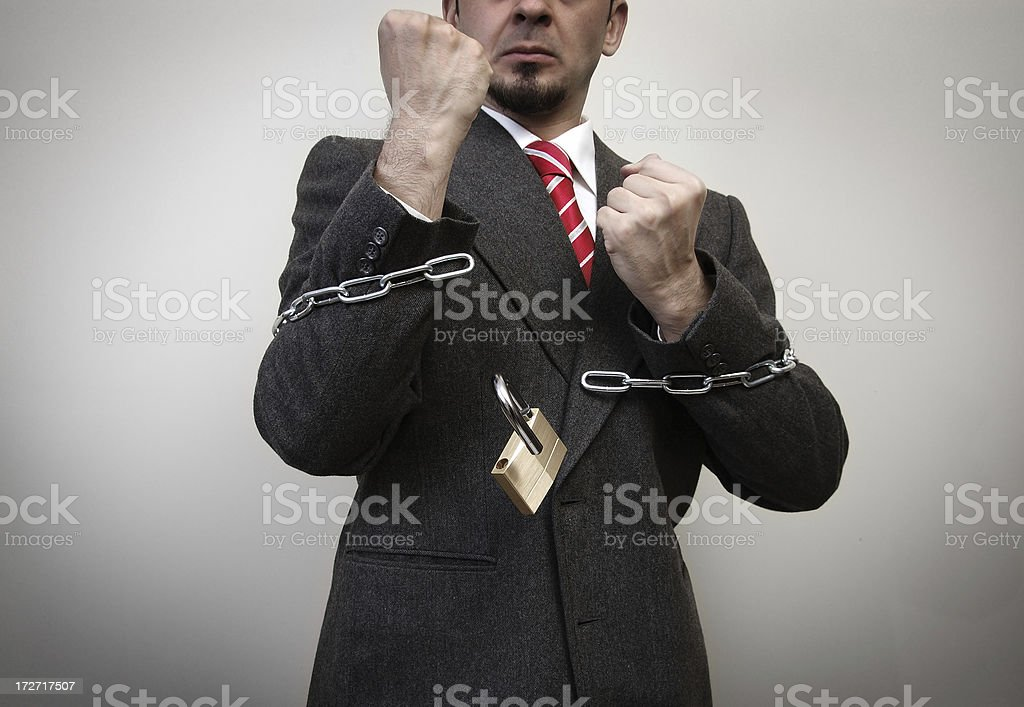 brake your chains stock photo
