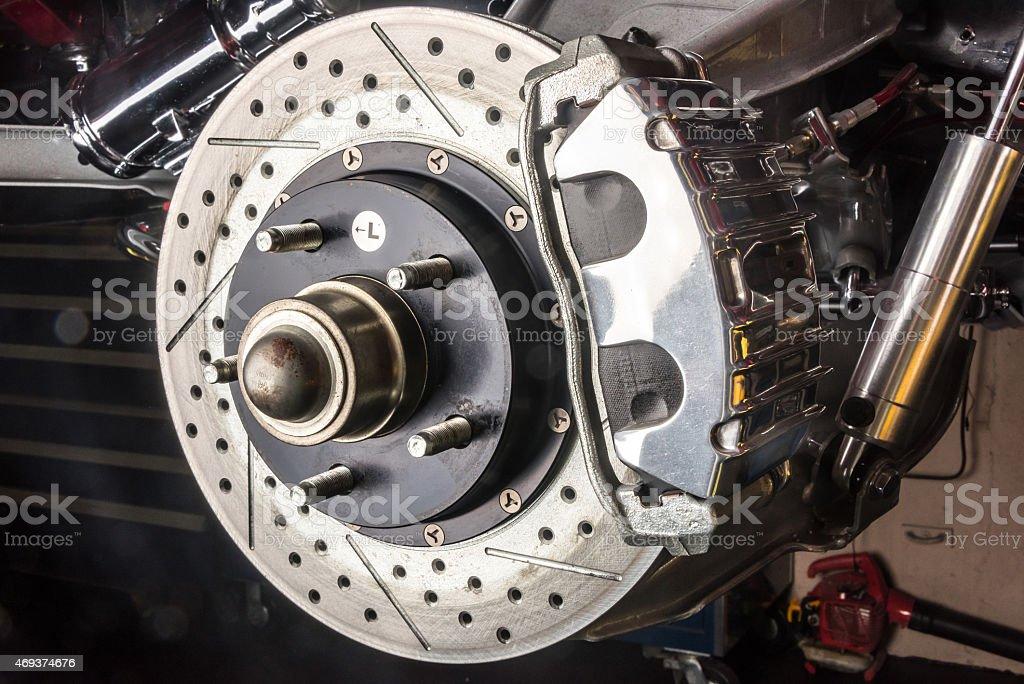 Brakes stock photo