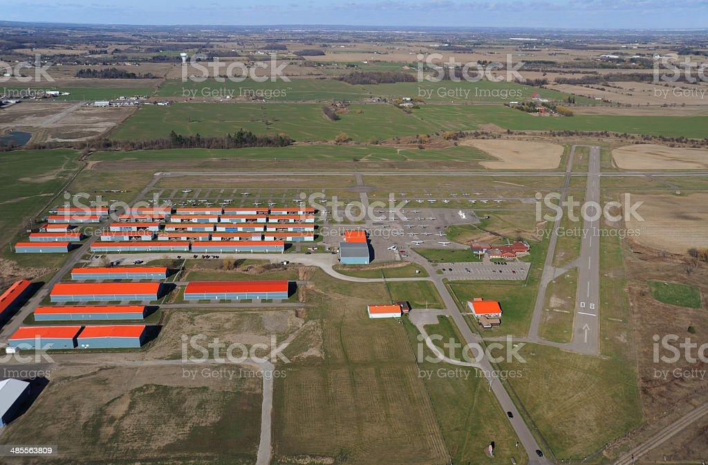Brampton Airport, Ontario stock photo