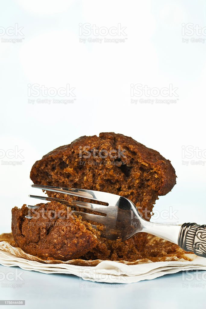 Bran Breakfast Muffin stock photo