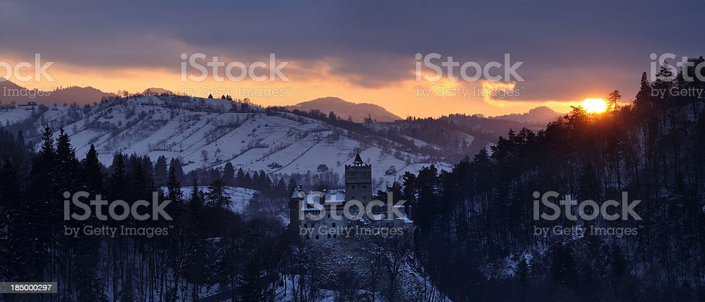 Bran Castle - Brasov, Romania royalty-free stock photo