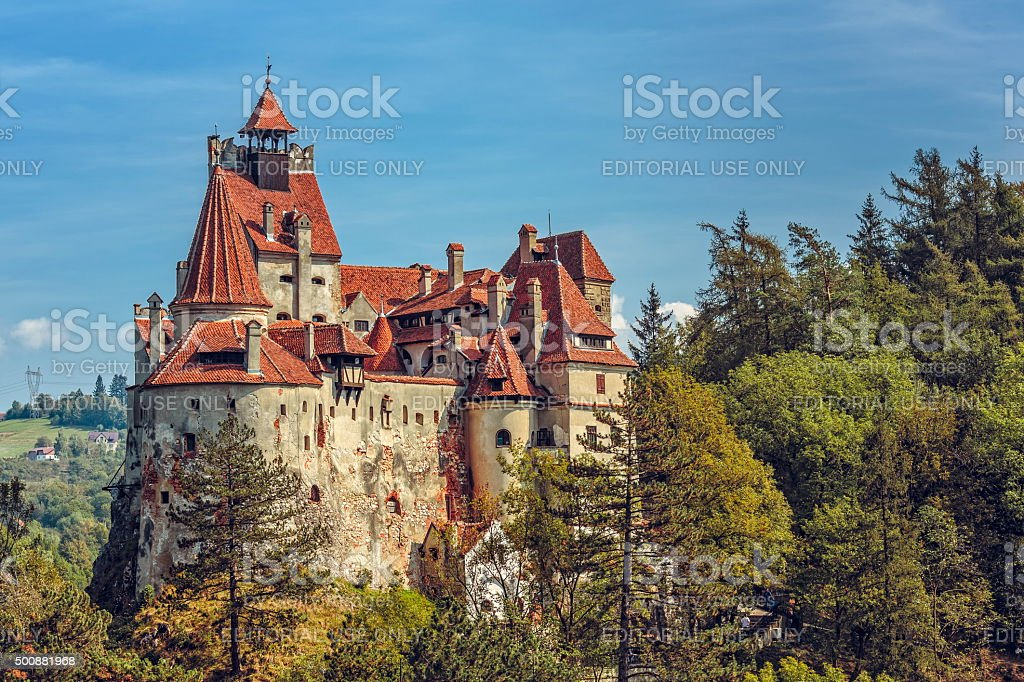Bran Castle, Romania stock photo