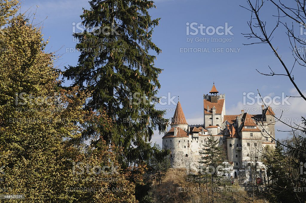 Bran Castle, Transylvania, Romania royalty-free stock photo