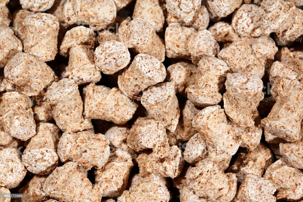 Bran flakes background- high resolution 50 megapixels stock photo