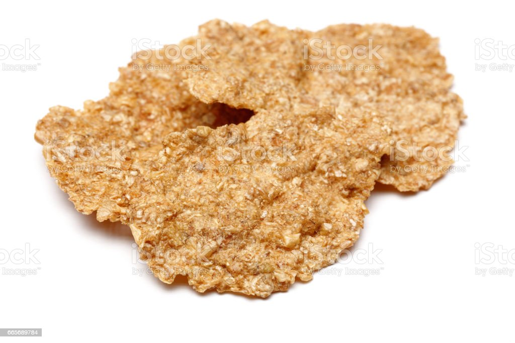 Bran Flakes stock photo