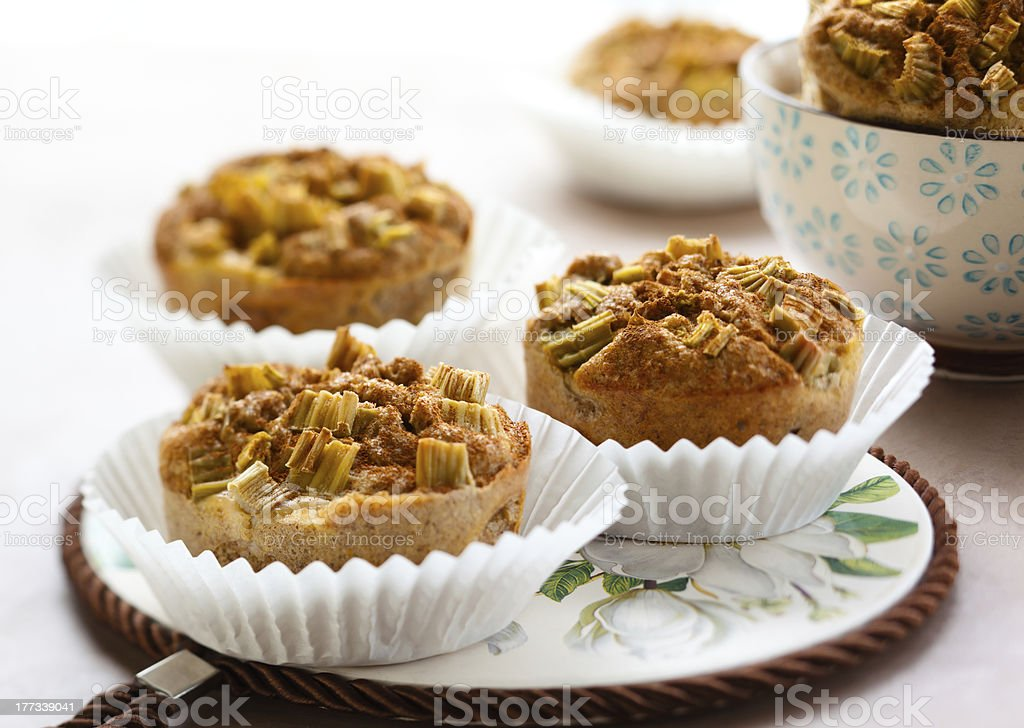 Bran muffins royalty-free stock photo