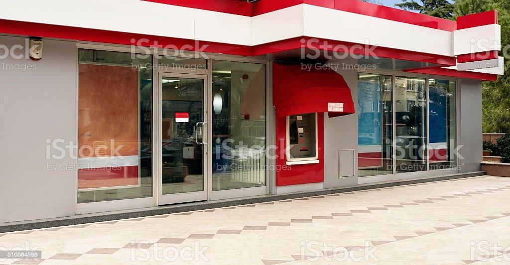 branch bank stock photo
