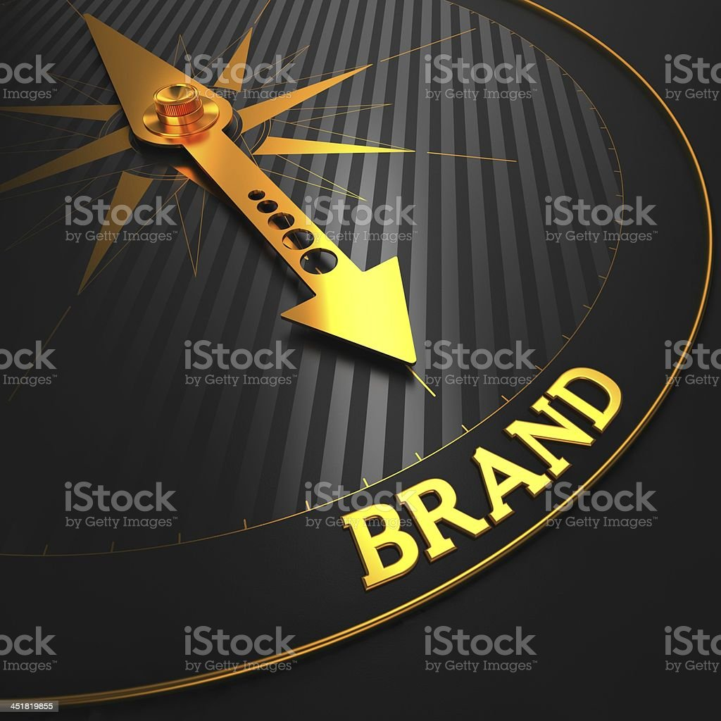 Brand. Business Concept. stock photo