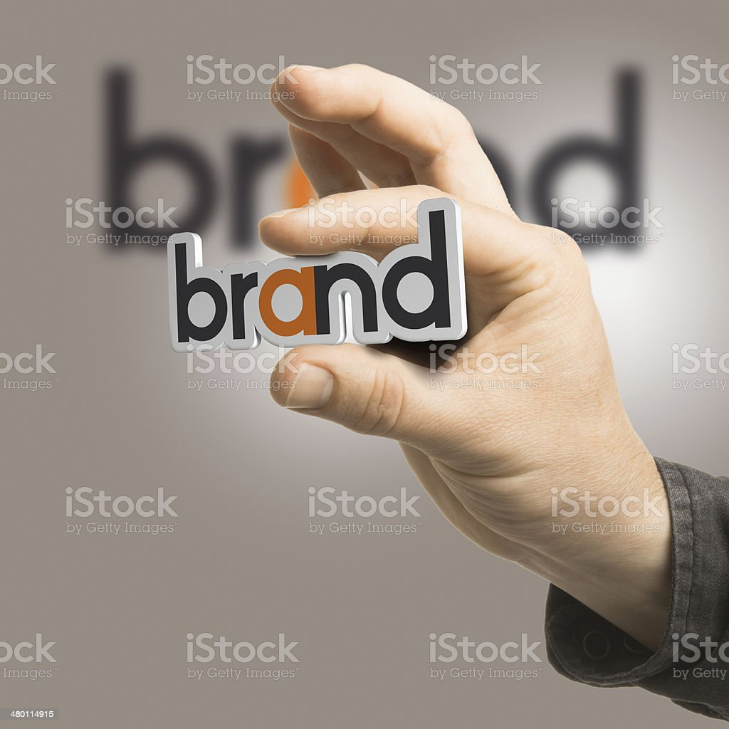 Brand - Company Identity stock photo