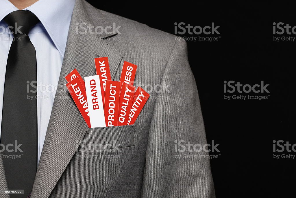 Brand Concept royalty-free stock photo