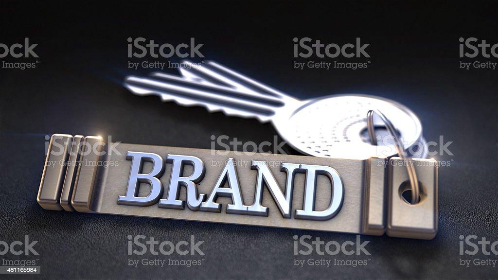 Concept de la marque photo libre de droits