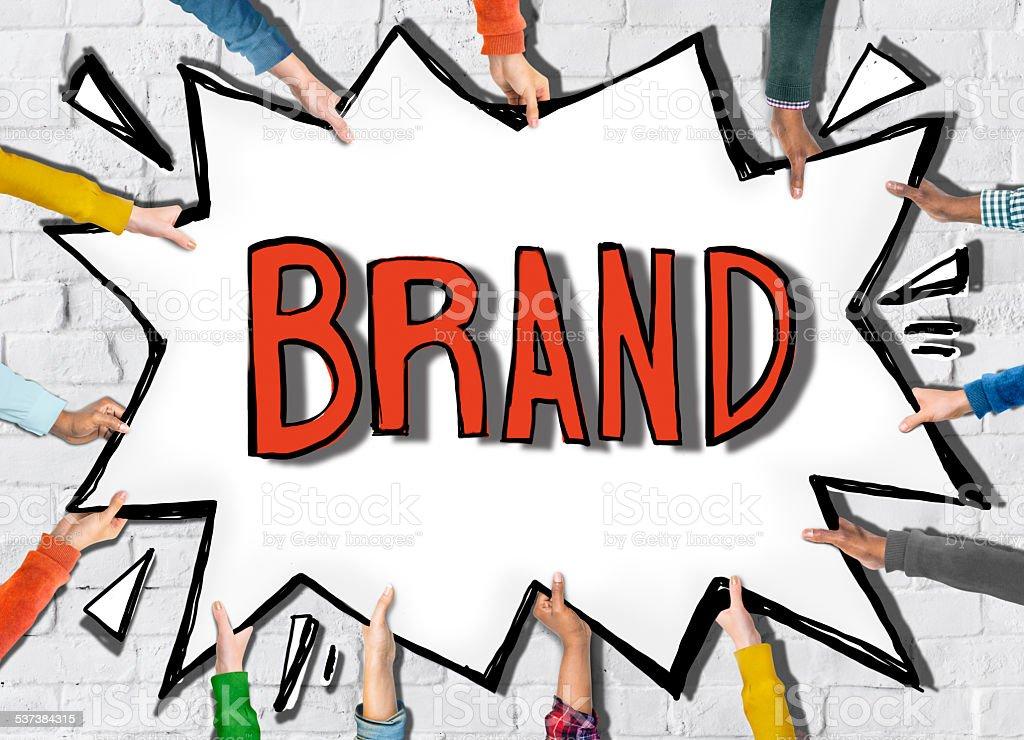 Brand Marketing Branding Copyright Identity Trademark Patent Con stock photo