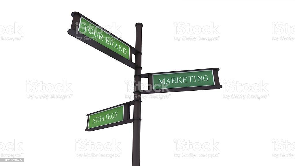 Brand, Marketing, Strategy royalty-free stock photo