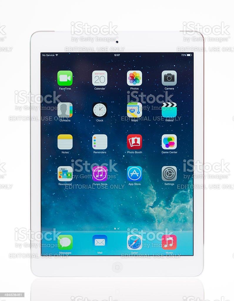 Brand new Apple iPad Air stock photo