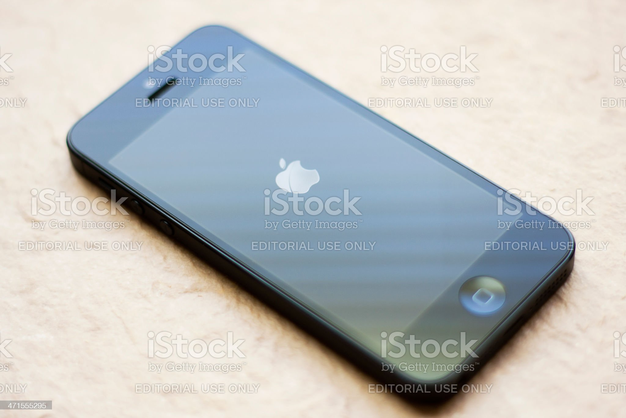 Brand New Apple iPhone 5 royalty-free stock photo