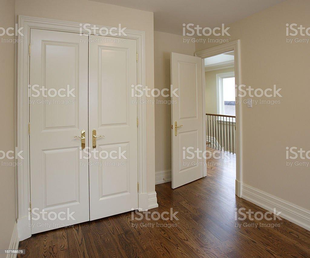 Brand new bedroom royalty-free stock photo