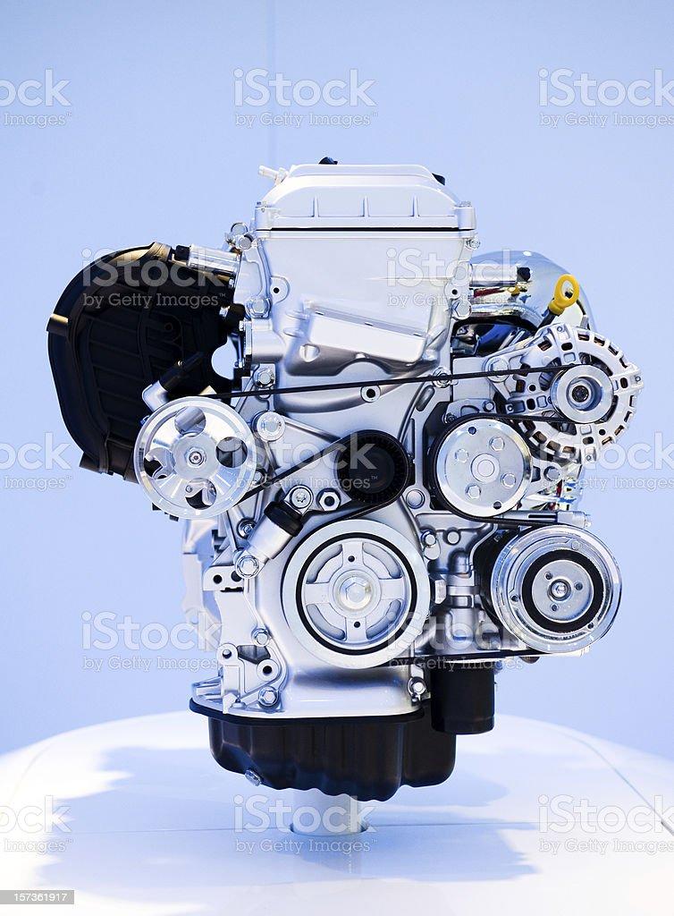 brand new car engine royalty-free stock photo