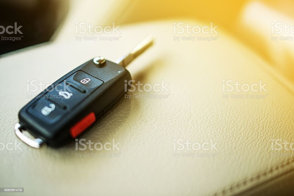 Brand New Car Keys stock photo