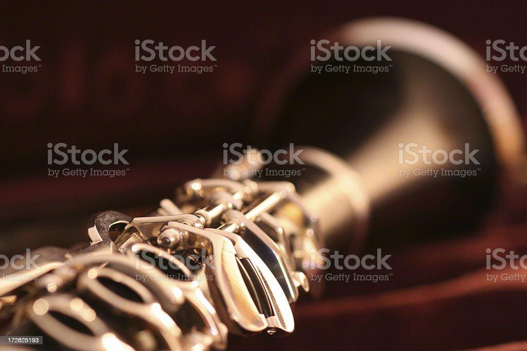 Brand new Clarinet stock photo