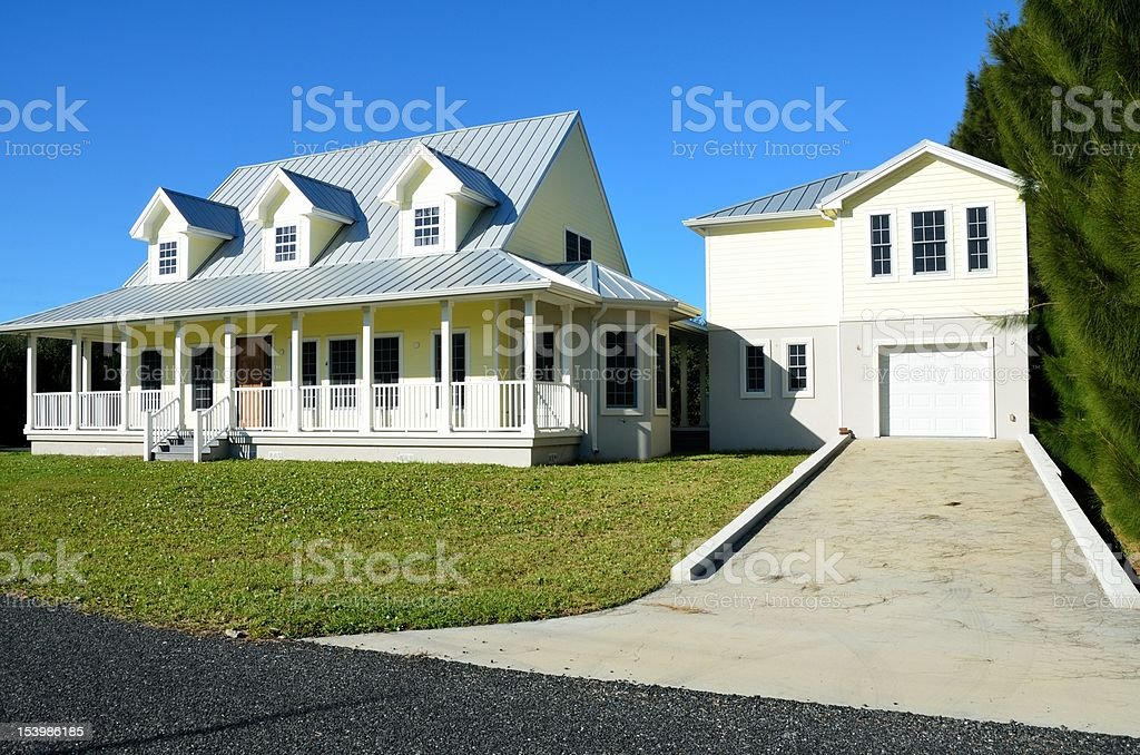Brand New Constructed Home For Sale stock photo