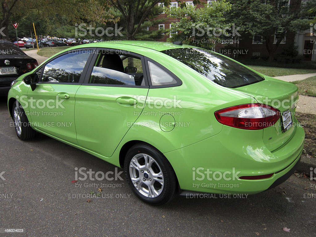 Brand New Ford Fiesta stock photo