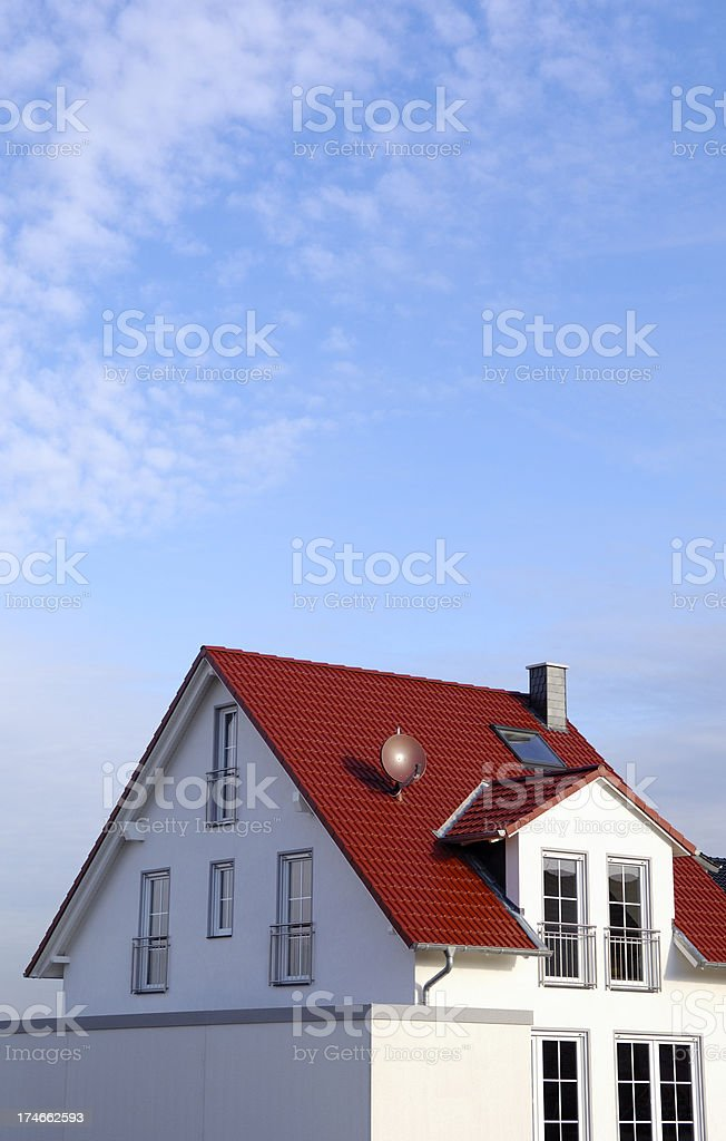 Brand new house royalty-free stock photo