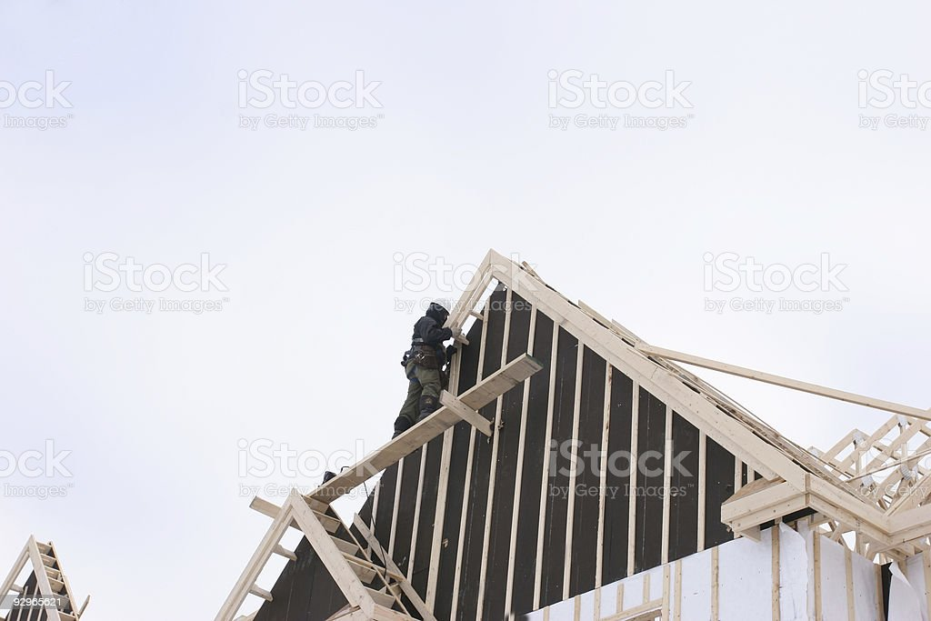 Brand new house! royalty-free stock photo