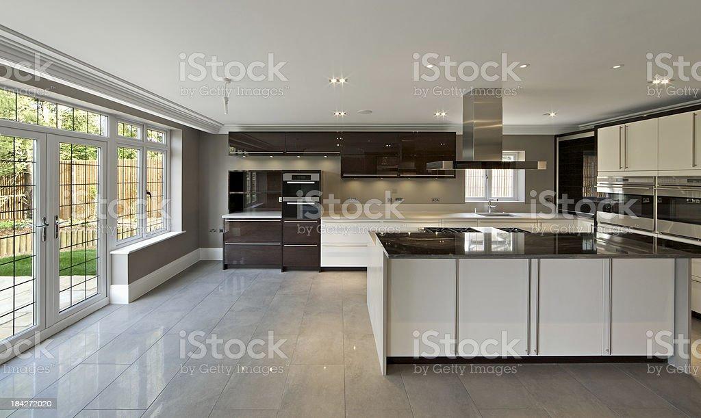 brand new kitchen stock photo