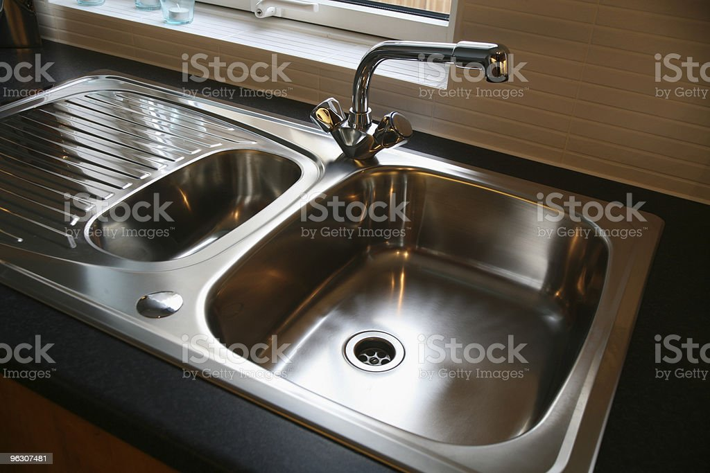 Brand New Kitchen Sink royalty-free stock photo