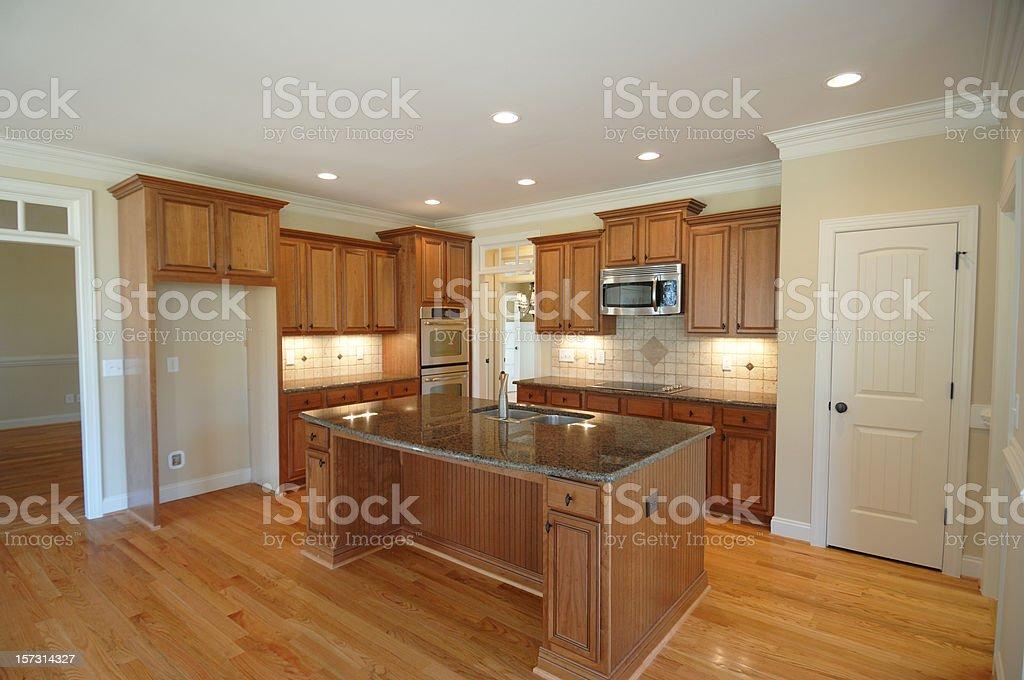 Brand New Luxury Kitchen royalty-free stock photo