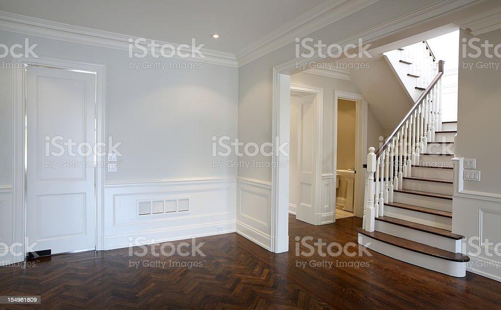 Brand New North American Home stock photo