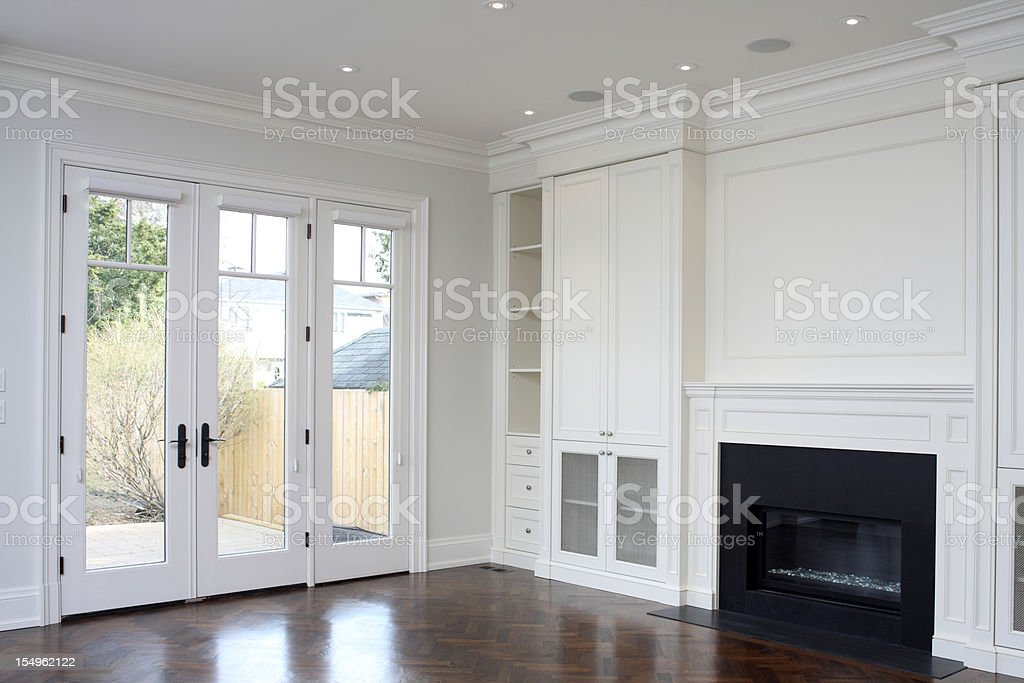 Brand New North American Home stock photo