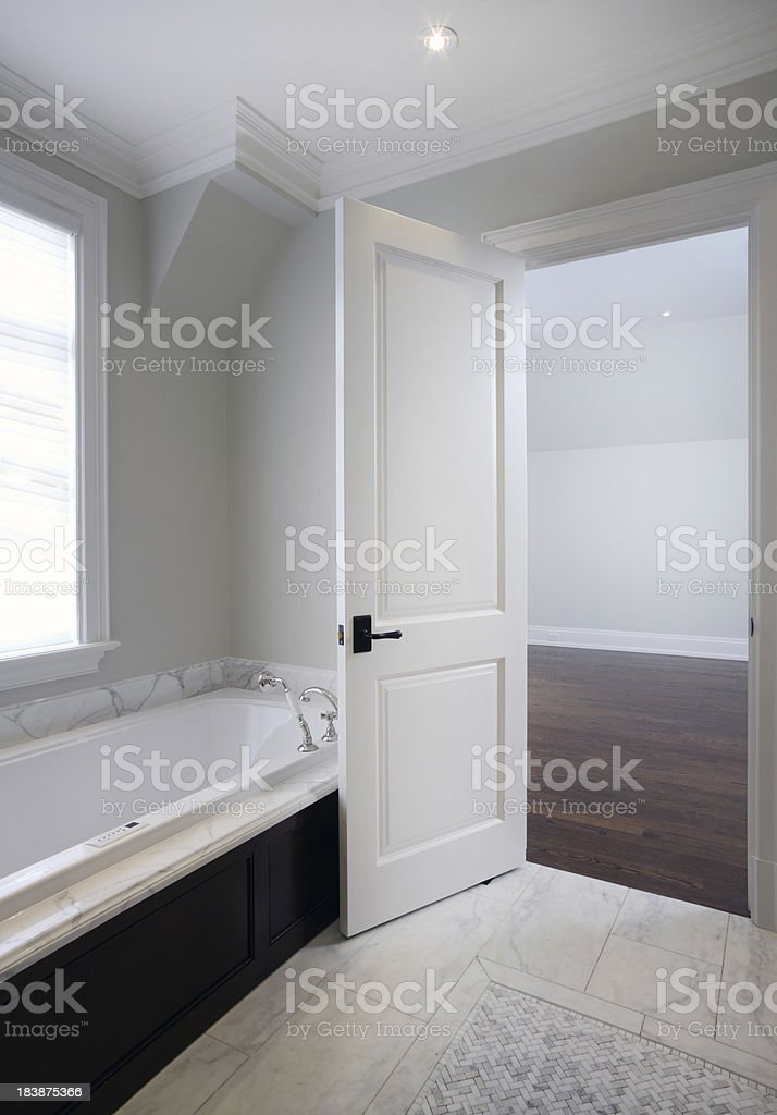 Brand New North American Home royalty-free stock photo