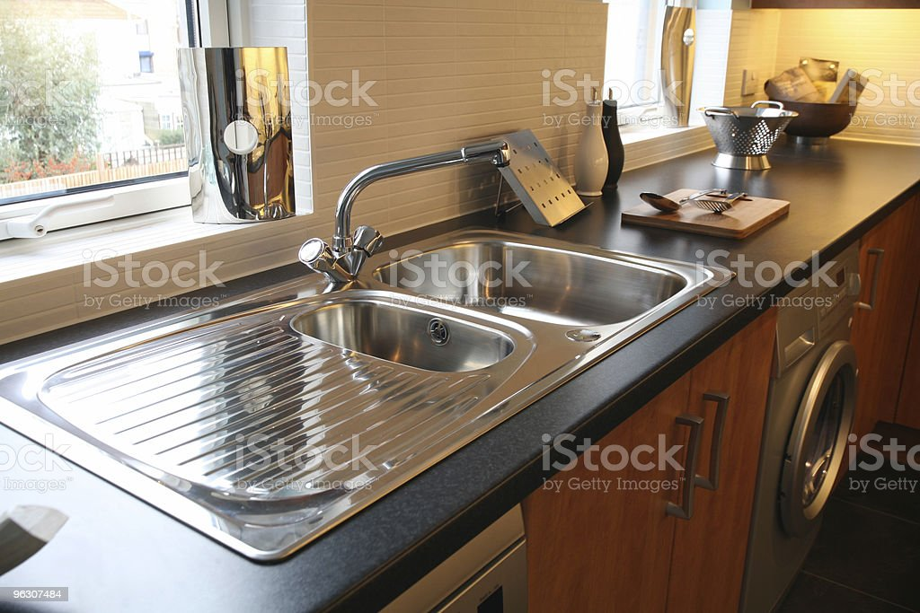 Brand New Shiny Kitchen royalty-free stock photo
