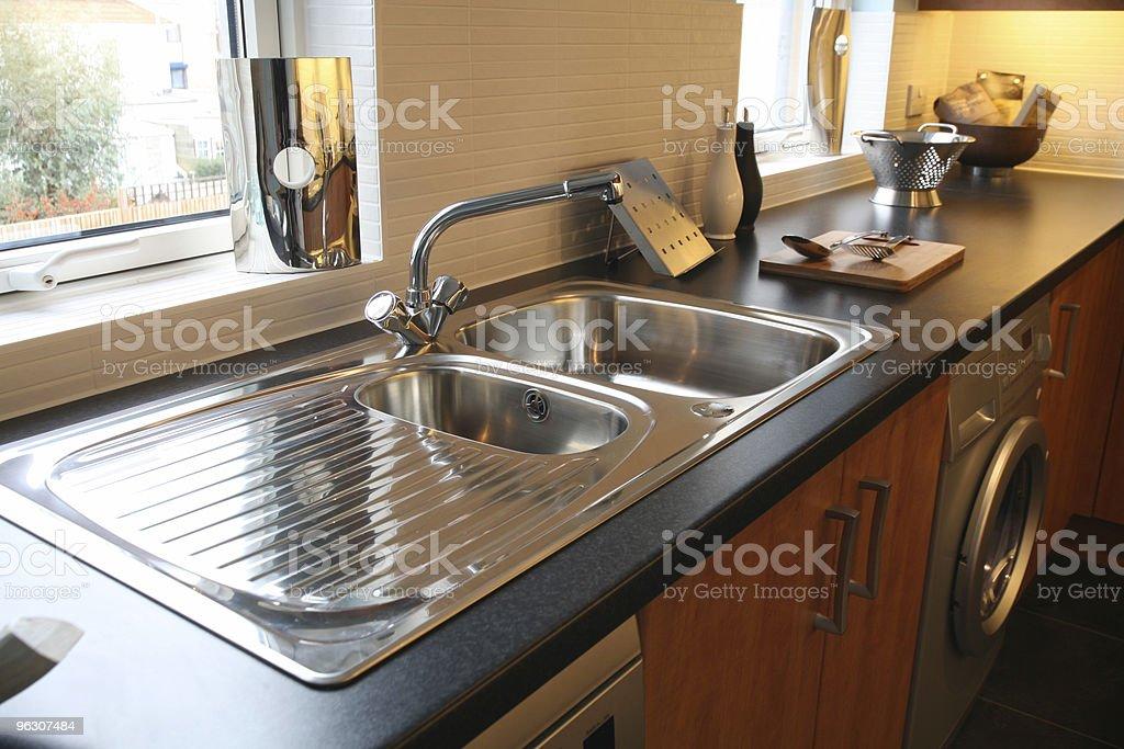 Brand New Shiny Kitchen stock photo