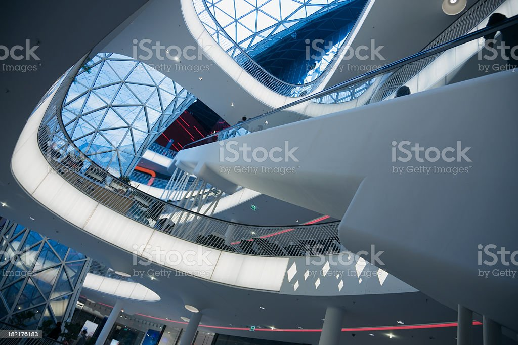 Brand new shopping mall close up royalty-free stock photo