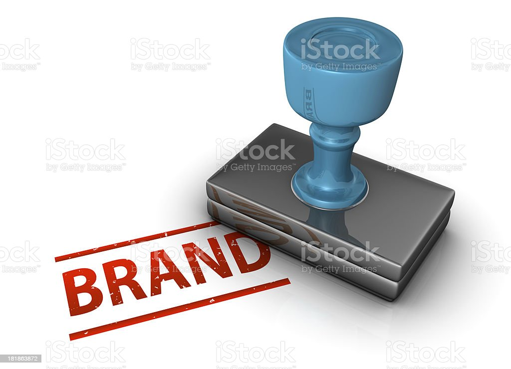 Brand Stamp royalty-free stock photo
