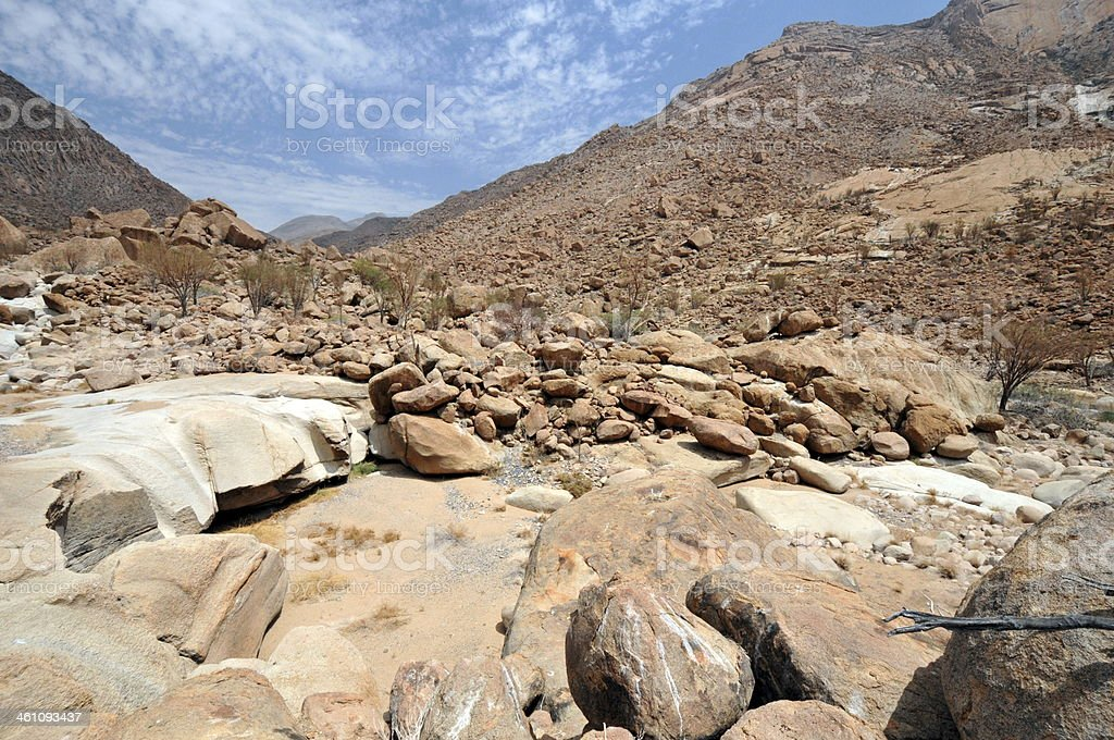 Brandberg mountain, Namibia stock photo