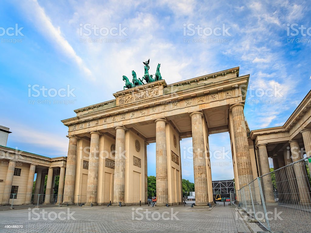 Brandenburg Gate - Berlin - Germany stock photo