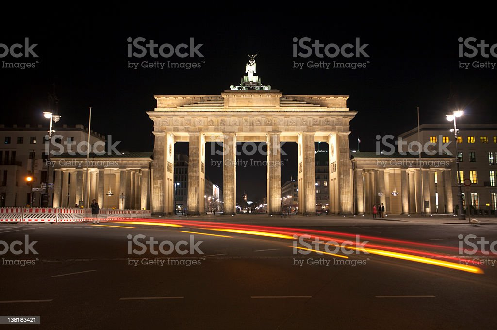 Brandenburger Gate Berlin stock photo