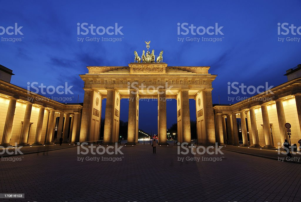 Brandenburg Gate - Berlin royalty-free stock photo