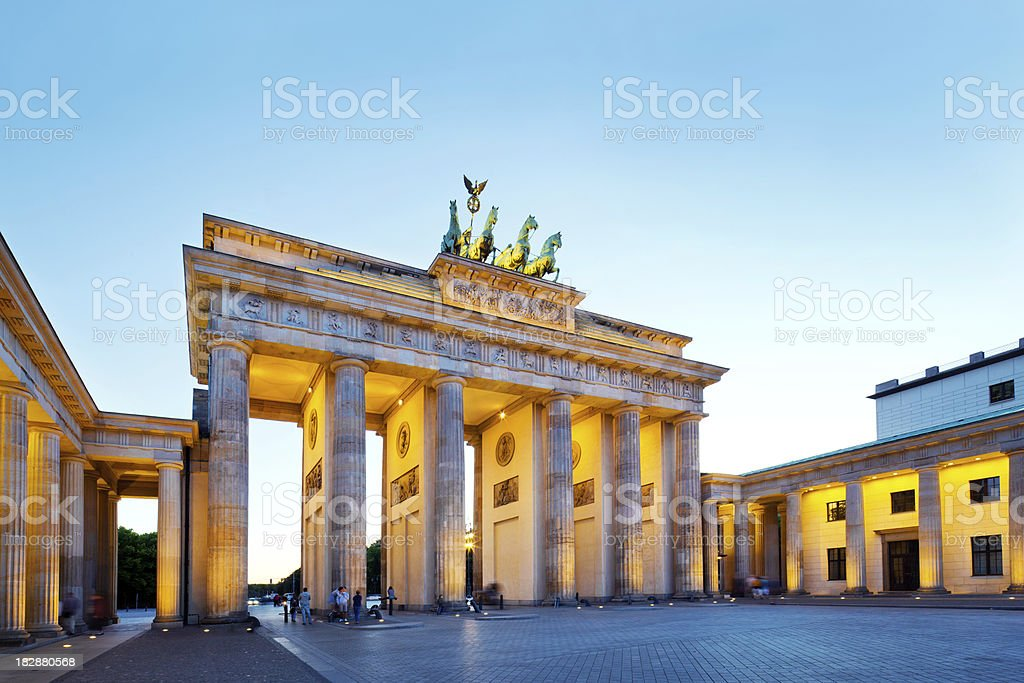 Brandenburg Gate, Berlin royalty-free stock photo