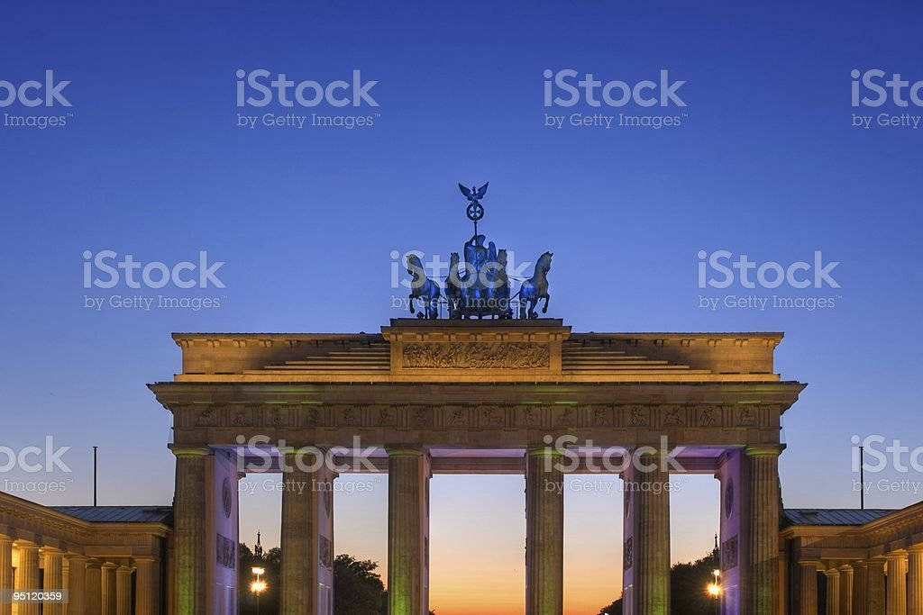 Brandenburg Gate - Berlin stock photo