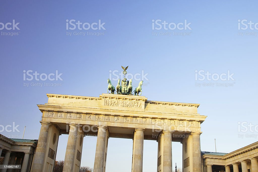Brandenburg Gate royalty-free stock photo