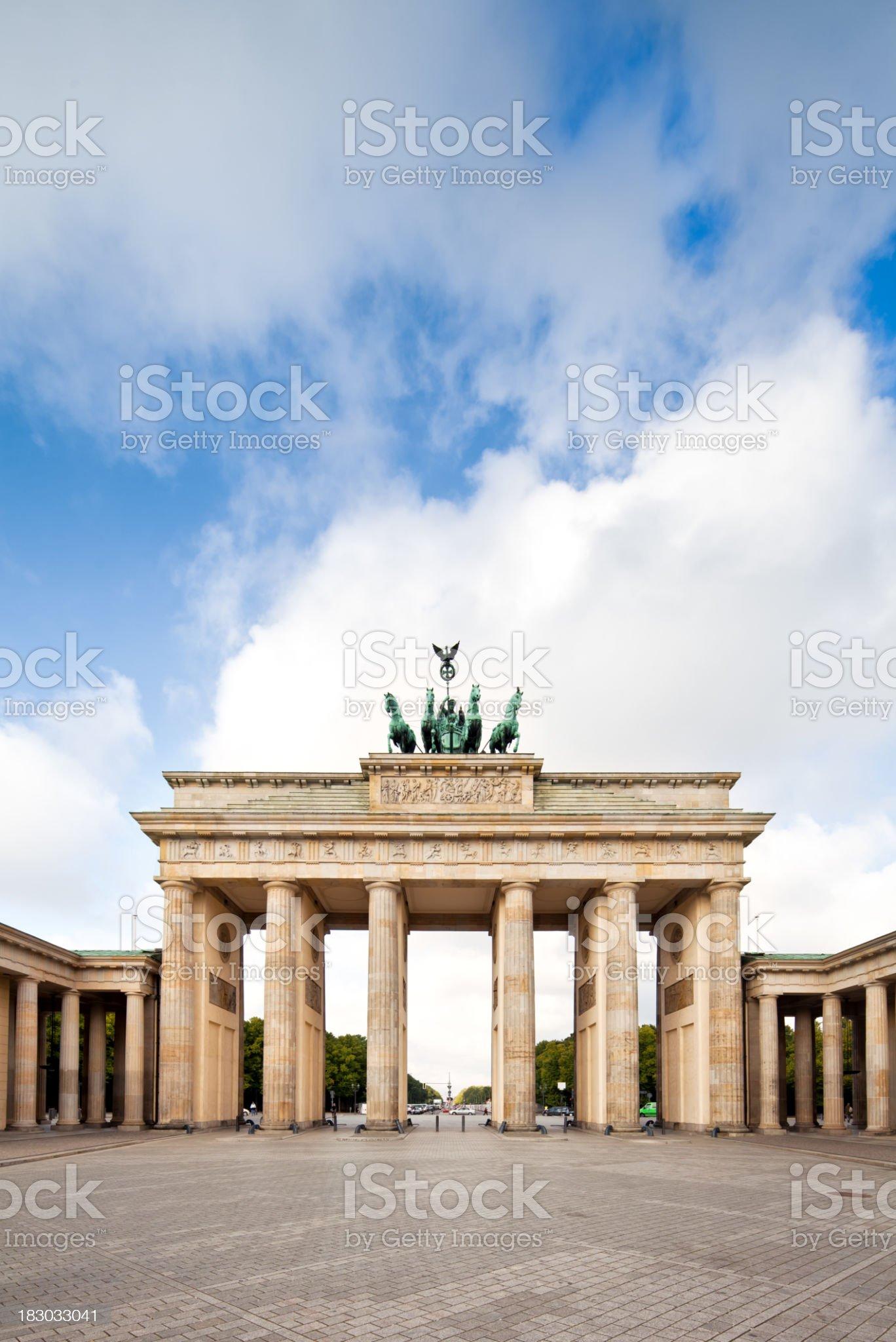 Brandenburg Gate royalty-free stock photo