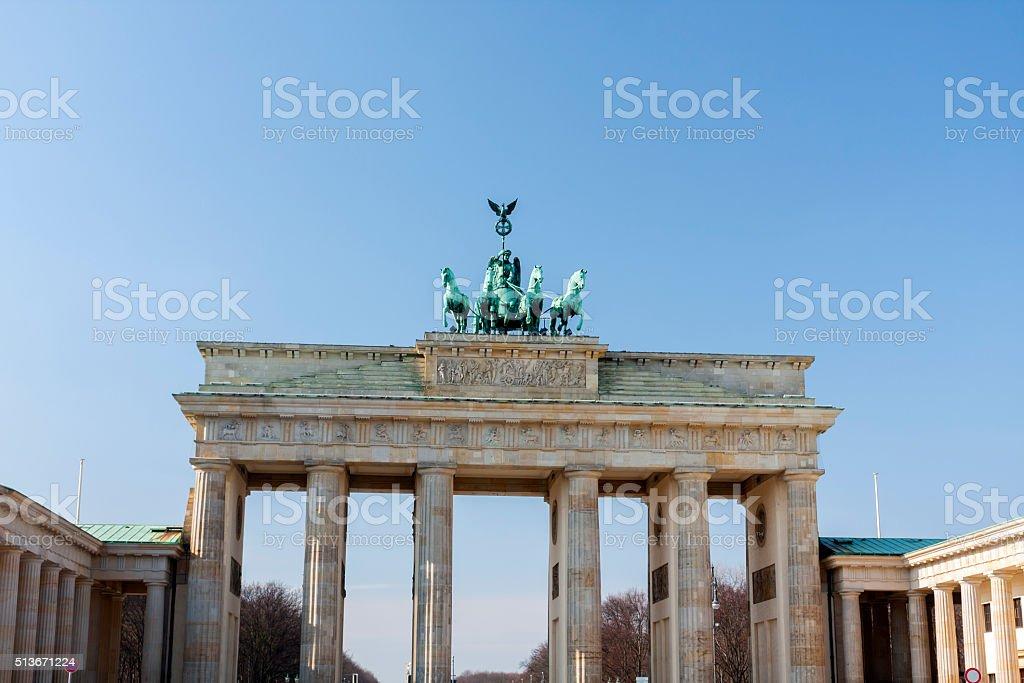 Brandenburg Gate stock photo