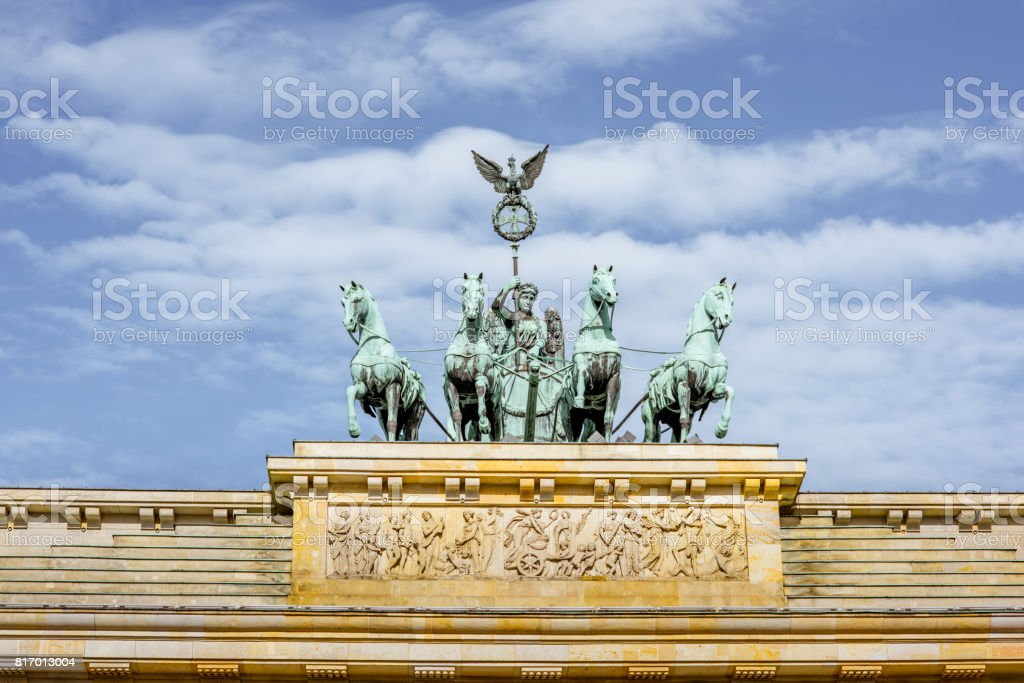 Brandenburg gates stock photo