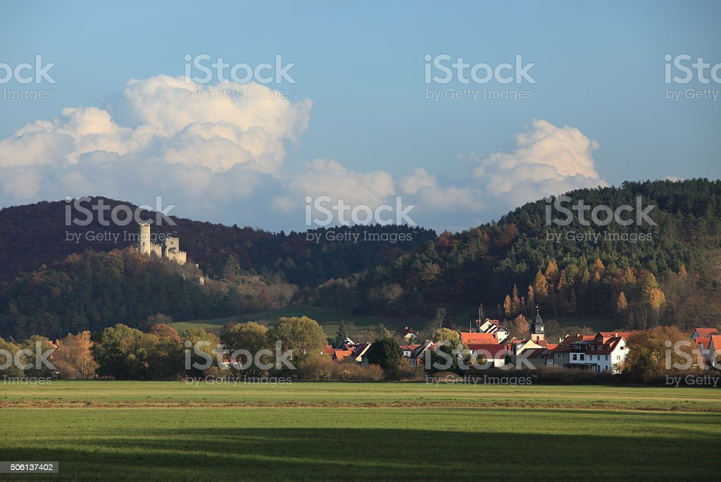 Die Brandenburg im Werratal stock photo