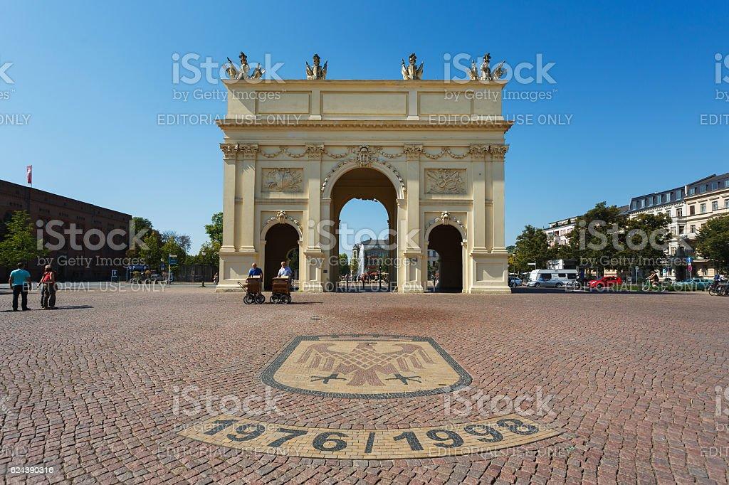 Brandenburger Gate in Potsdam stock photo